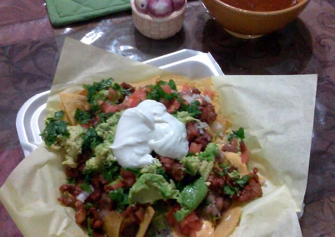 carne al pastor for tacos, burritos and nachos....