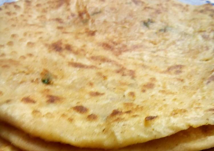 Step-by-Step Guide to Prepare Quick Allo k Parathay (Potatoes stuffed Flat bread) by Nancy