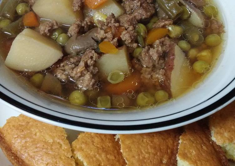 """Lotsa"" Vegetable/Beef Soup"
