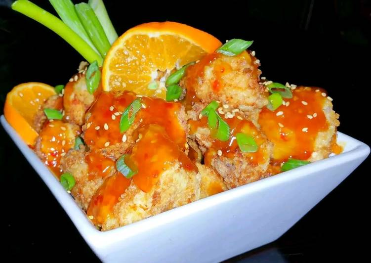 Mike's Crispy Orange Chicken