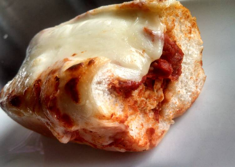 Recipe of Perfect Chicken Parmesan Meatball Sandwiches