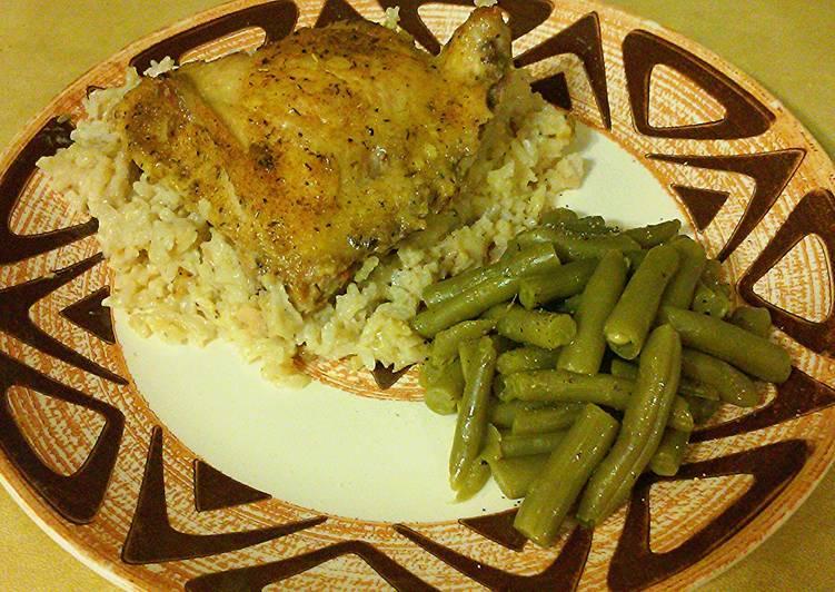 Super Easy Chicken n' Rice