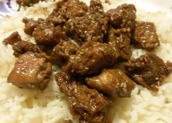 How to Prepare Appetizing Sesame Chicken Teriyaki
