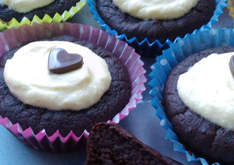 Recipe of Super Quick Homemade Vickys Red Velvet Cupcakes with Beetroot, GF DF EF SF NF