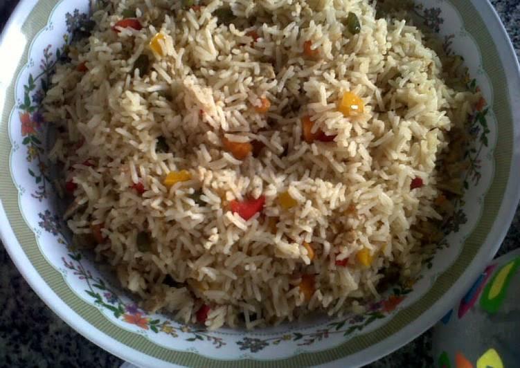 Easiest Way to Prepare Tasty Vegetable Fried Rice.