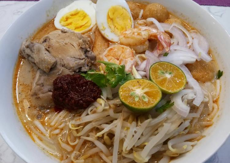Recipe: Perfect Laksa Curry Sarawak
