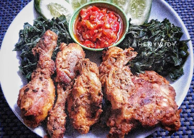 Resep Ayam bakar bumbu padang Anti Gagal