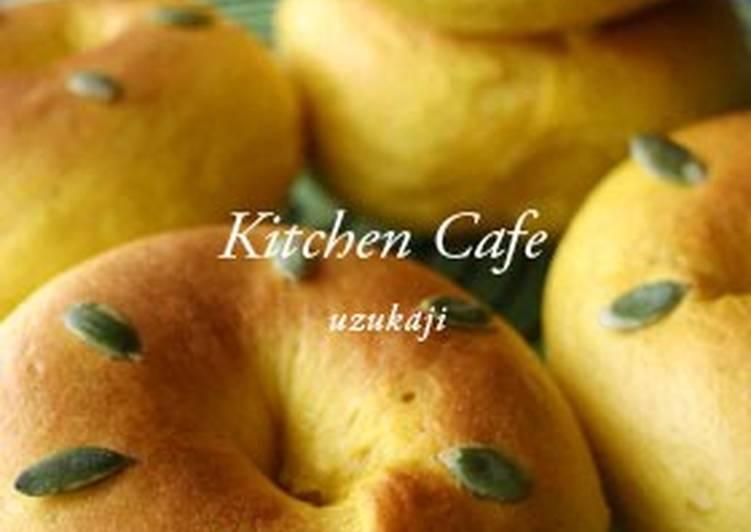 Kabocha Squash Bagels
