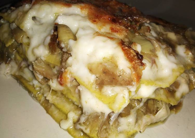 Recipe: Perfect Lasagne bianche ai carciofi