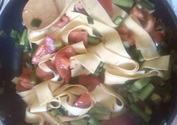 Recipe: Appetizing Summer veggie pasta