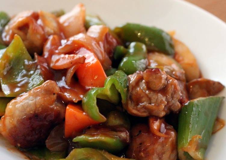 70+ Dinner Easy Special Easy and Healthy! Non-Fried Sweet and Sour Pork Balls!