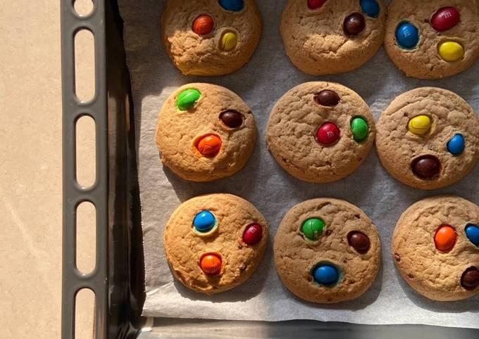 Mimi's Favourite M&M Cookies