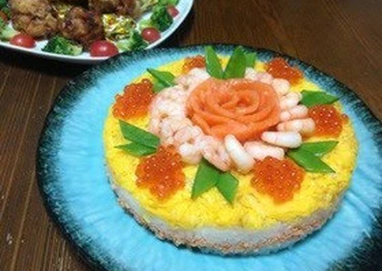 Gorgeous But Simple Sushi Cake
