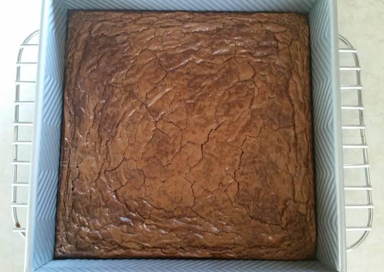 Ooey Gooey Nutella Brownies