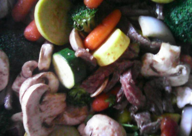 What is Dinner Easy Any Night Of The Week Beef and veggie medley