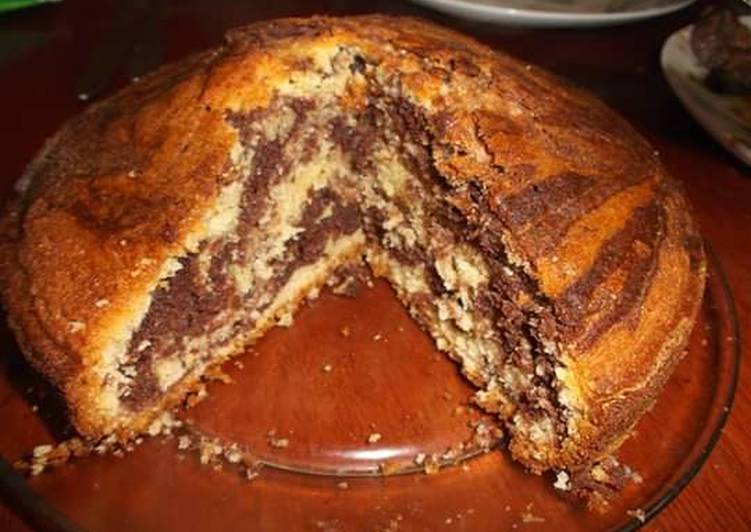Simple Marble Cake