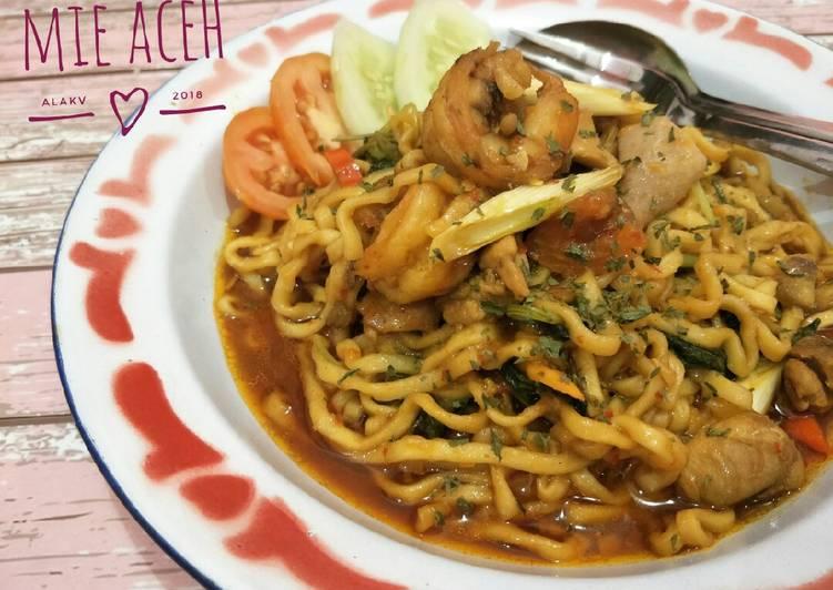 Resep Mie Aceh Nyemek #BikinRamadhanBerkesan #Day2 Yang Mudah Sedap