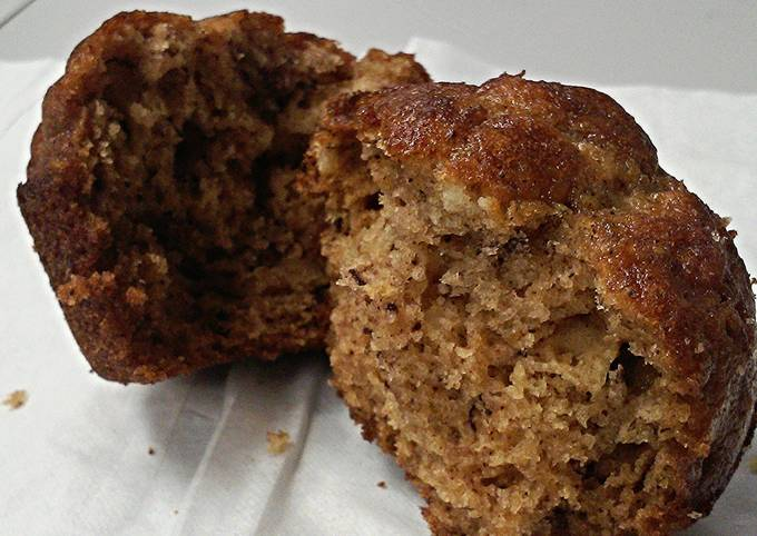 Spiced Banana Bread Muffins