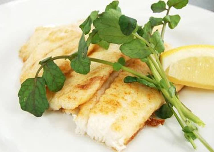 Easiest Way to Make Perfect Flounder Meunière