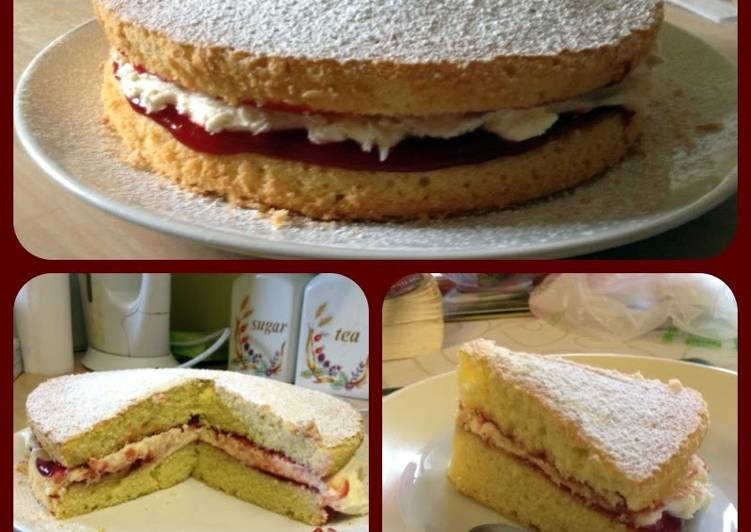 Easy all in one victoria sponge