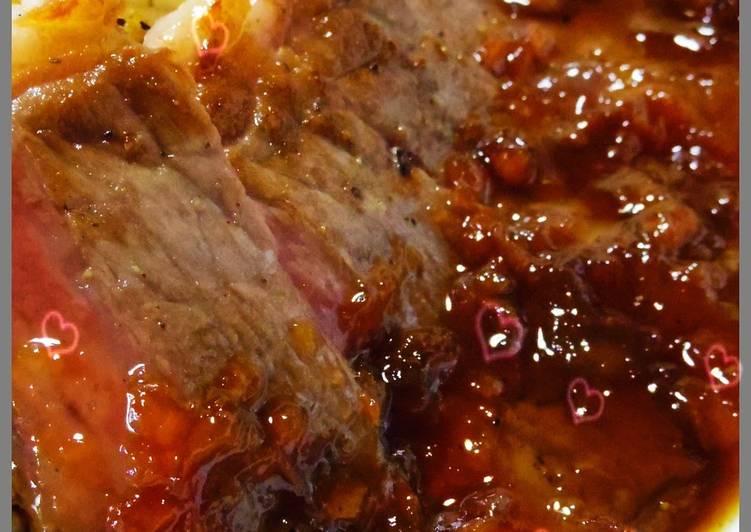 A Chef's Recipe for Umeboshi Flavored Hamburger & Steak Sauce