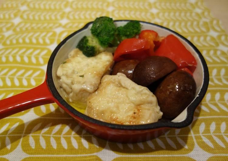 How to Prepare Recipe of Speedy Tofu al ajillo (vegan) Recipes
