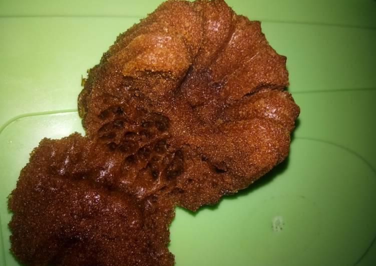 cara buat Bolu Karamel Empuk Anti Gagal - Sajian Dapur Bunda