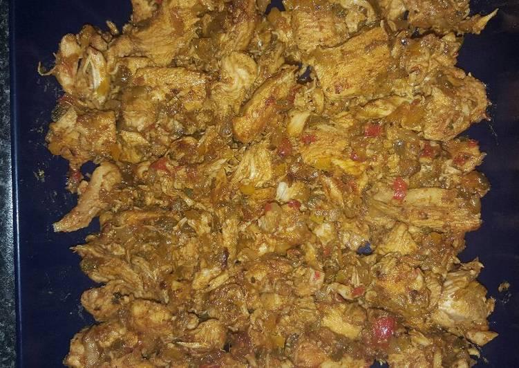 Recipe of Speedy Chilli Chicken