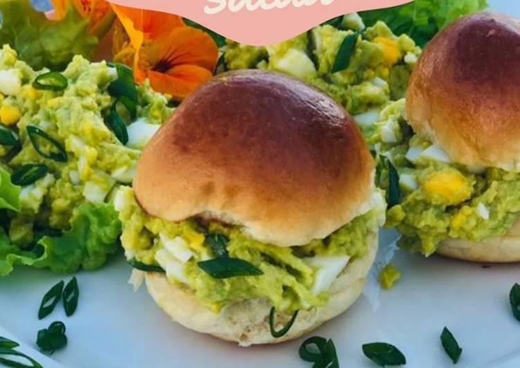 Dairy-free avocado egg salad