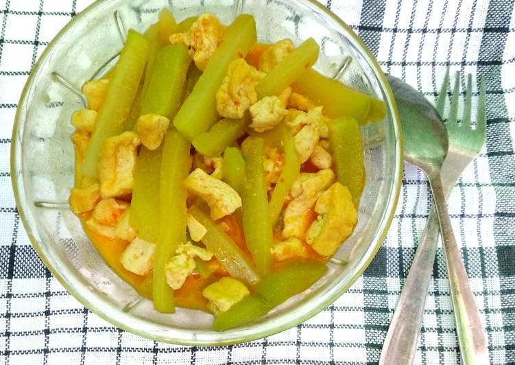 Resep Sayur Labu Siam Tahu Kuah Santan Yang Sempurna Aneka Resep Masakan Enak Mas Timon
