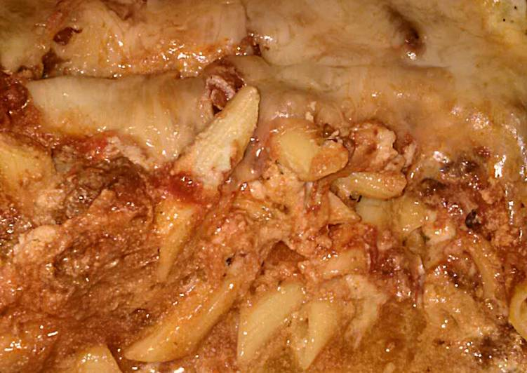 Recipe of Perfect Mae's Baked Penne