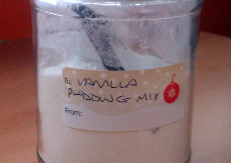 Step-by-Step Guide to Make Any-night-of-the-week Vickys Homemade Vanilla Pudding Mix, GF DF EF SF NF