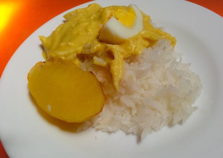 Easiest Way to Prepare Ultimate Ají de gallina (Peruvian dish)