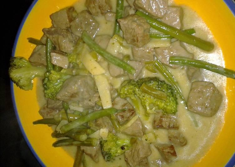 Thai Green Broccoli Beef
