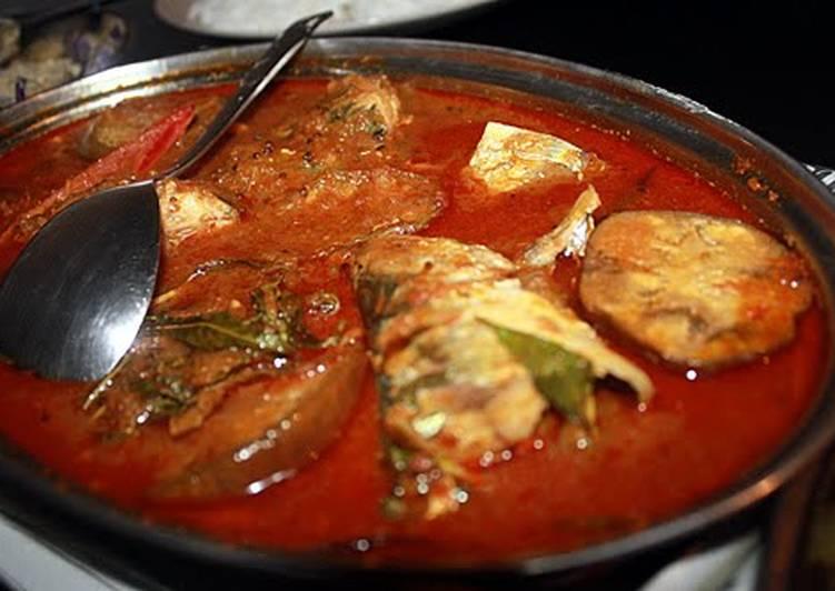 Assam Pedas / Sour & Spicy fish