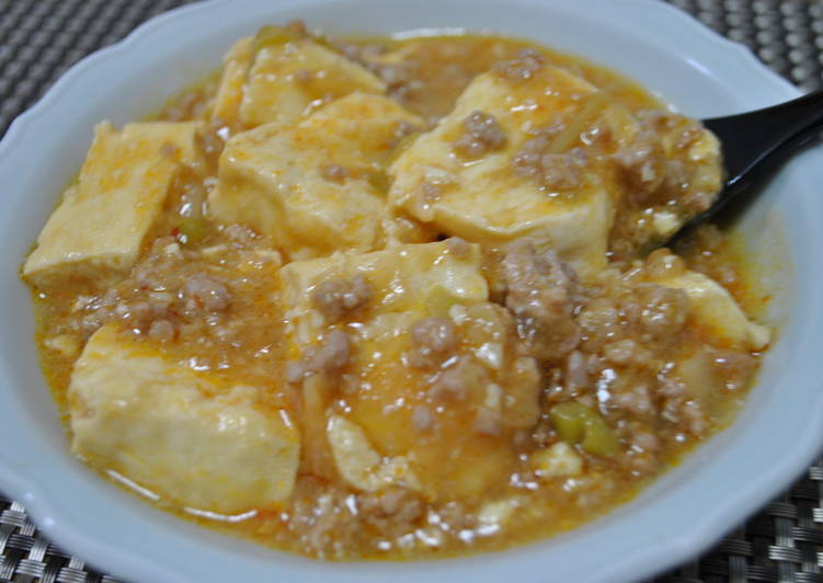Steps to Prepare Perfect Simple Mapo Tofu