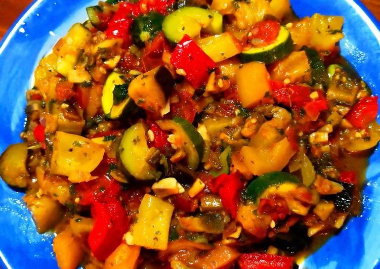 Recipe of Perfect Italian Ratatouille 🇮🇪😍🤗