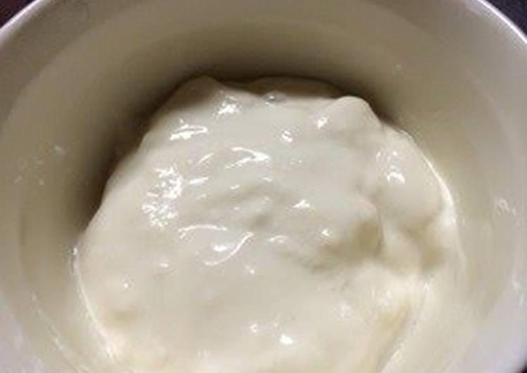 Kefir & Soy Milk Yogurt