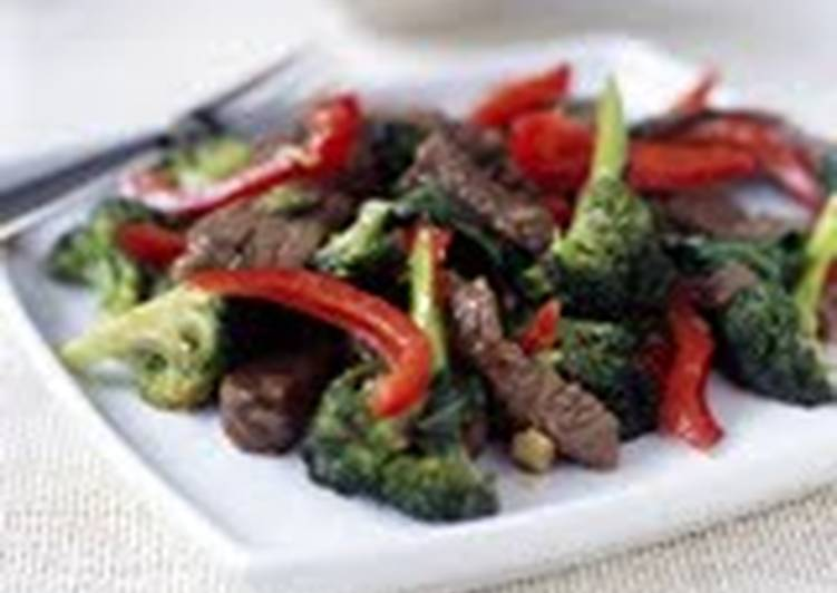 Your Health Can Be Impacted By The Foods You Choose To Eat Beef, red pepper and mushroom stirfry