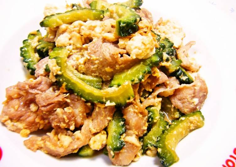 Step-by-Step Guide to Make Super Quick Homemade I Learned this Goya Chanpuru from My Okinawan Husband
