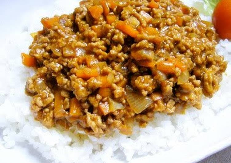 Really Delicious Dry Curry