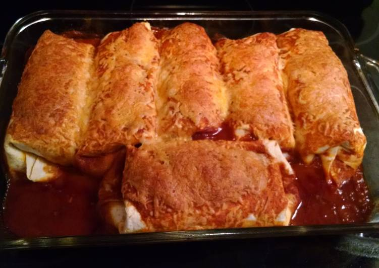 Recipe of Ultimate Simple Enchiladas