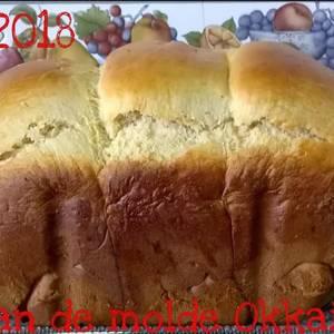 Pan de leche (en panificadora)