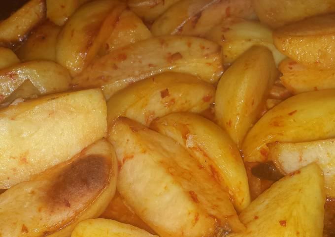 Roasted Pimento Potatoes