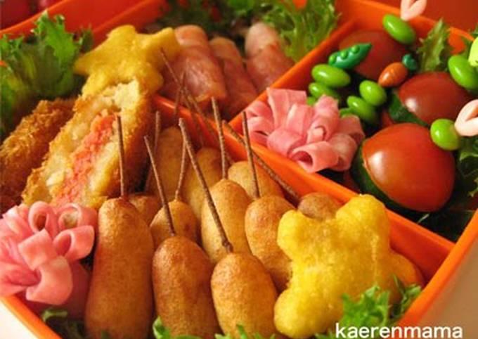 "Recipe: Appetizing Easy Miniature ""Corn Dogs"""