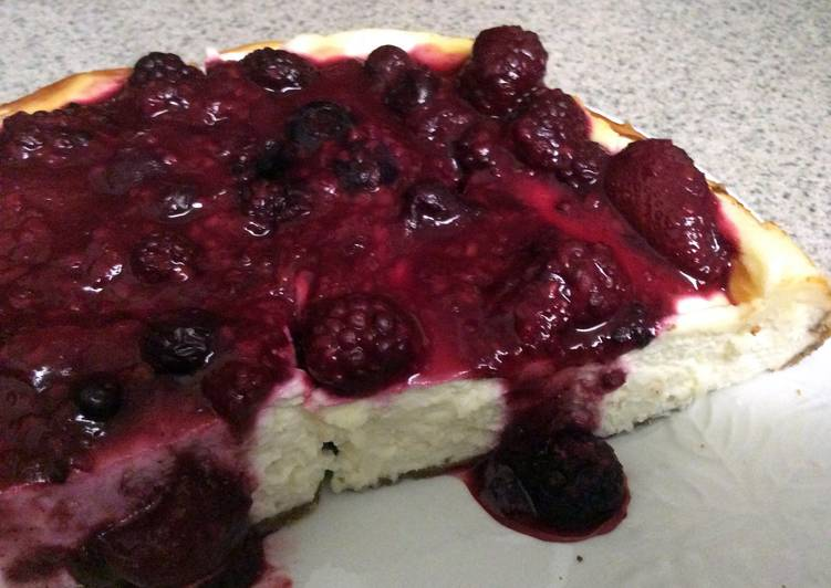 Easiest Way to Prepare Super Quick Homemade Sour Cream Cheesecake