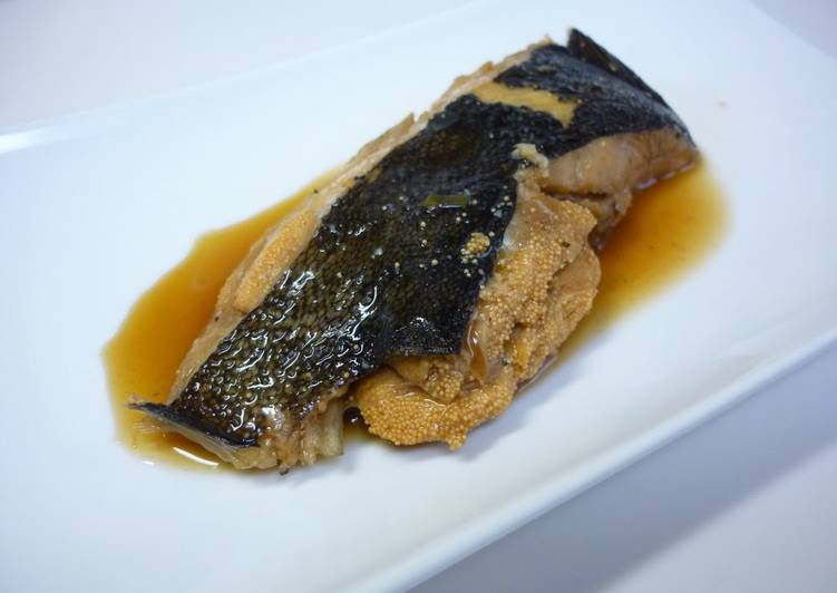 Steps to Prepare Favorite Just 1 Frying Pan!! Easy Soy Sauce Flavored Flounder