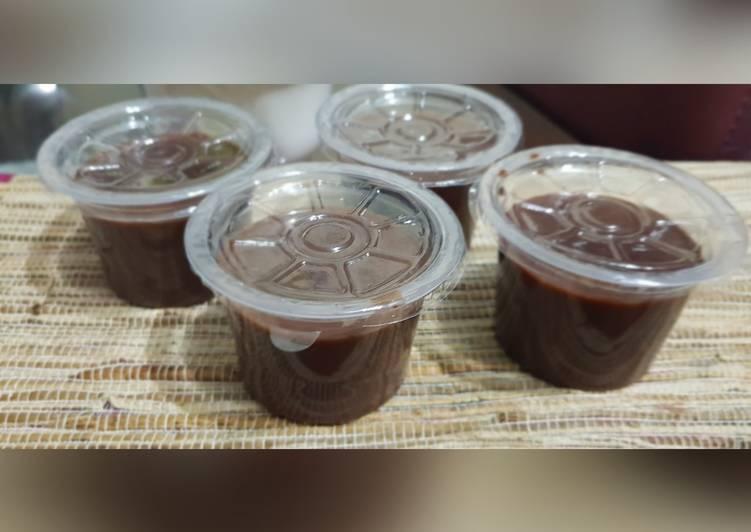 resep cara membuat Silky Puding Coklat