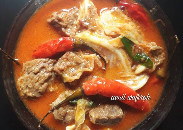 Resep Tongseng daging sapi Yang Gampang Bikin Nagih