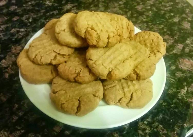 Egg Yolk Peanut Butter Cookies